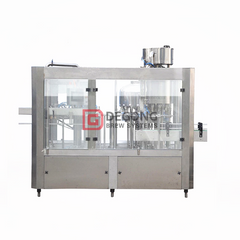 Fully automatic isobaric glass bottle beer filling machine / bottling line for sale