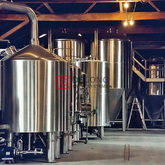 1000L Industrial Stainless Steel Automated Craft Beer Brewing Equipment for Sale
