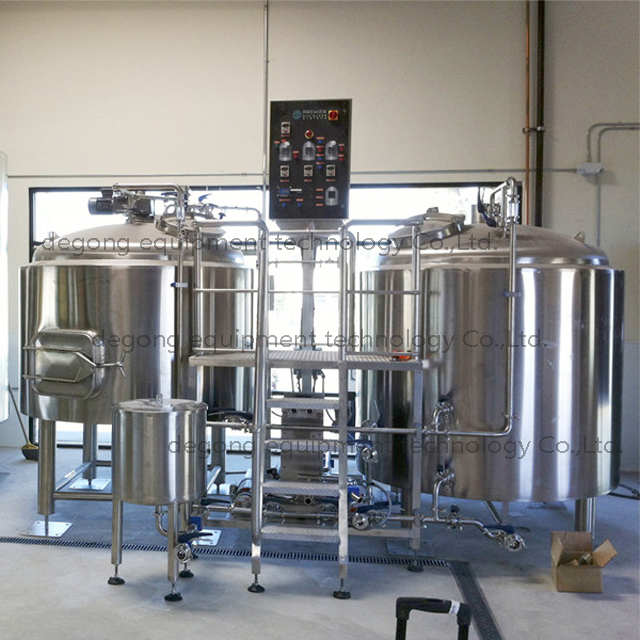 2000L Industrial Automated Steam Heated Steel Beer Brewhouse for Sale