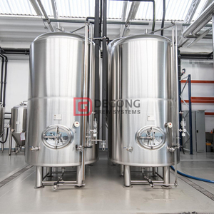 1000L Vertical Jacketed And Insulated Steel Bright Beer Tank for Sale