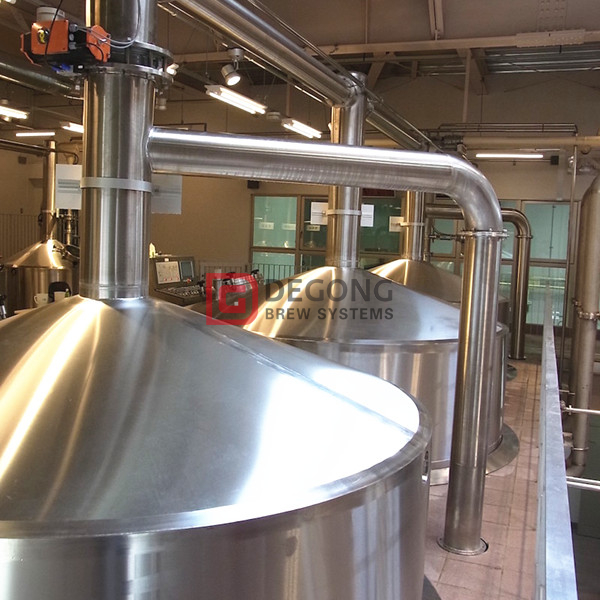 2500L commercial industrial automated steel beer brewing equipment for sale