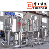 2000L commercial Compact industrial brewhouse for medium-size restaurants beer brewing brewery equipment for sale
