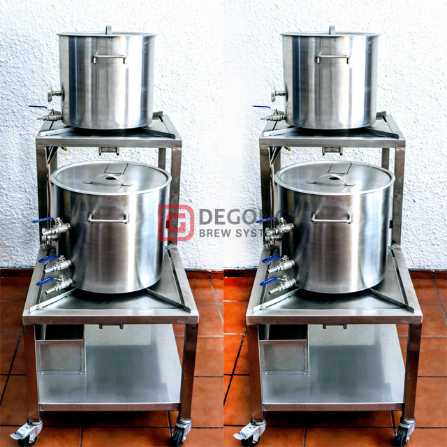 50L Craft Beer Machine stainless steel Brewing System Micro Brewery Equipment Hot Sale in Mexico