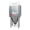 Stainless Steel Cylinder-conical Tank Fermentor 1000L with Top / Side Hatch Brewing System Manufacturer