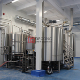 2000L Craft Beer China Manufacturer Hotel Brewery Equipment Cellar Commercial And Customizable Beer Machine for Sale