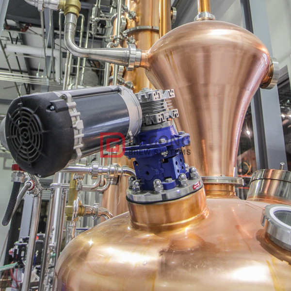 1000L turnkey commercial copper distilling system for sale