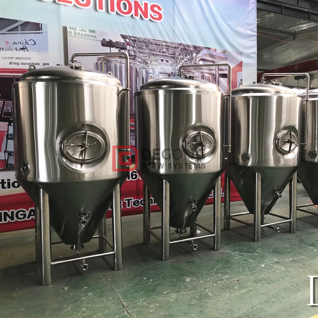 1000l commercial customized steel beer making equipment for sale