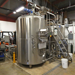 1500L Public House Beer Microbrewery Fermenting System with Steam Heating