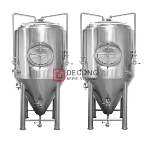 10BBL Fermenter Equipment Beer Brewing Machine Double Jacket Unitank CCT Brewpub Manufacturer