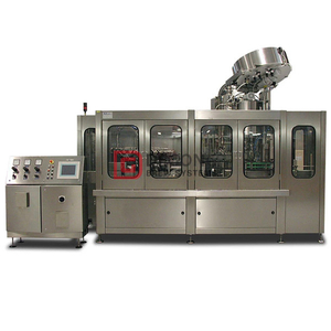 Professional carbonated drink fully automated canning machine for sale