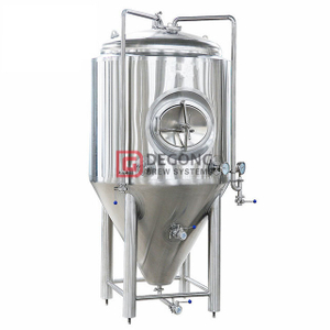 1500L Tailor-made Double Jacket Conical Vertical Stainless Steel Beer Brewing Equipment For Sale in Pennsylvania