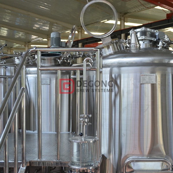 500L commercial turnkey steel craft beer making equipment for sale in Colombia