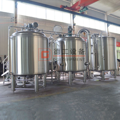 1000l Stainless Steel Automatic Beer Brewing Equipment for Sale in European Market