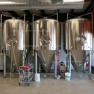 7BBL Stainless Steel Dimple Jacket Conical Beer Fermentation Equipment for Sale