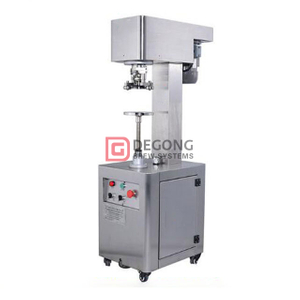 Stainless Steel Manual Canning Closing Seamer / Semi Automatic Sealing Machine for Tin Craft Beer Pop Can