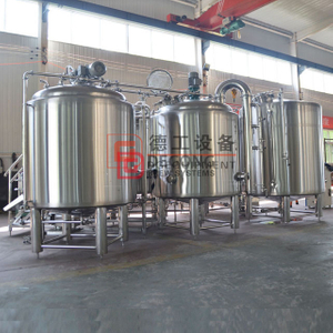 7BBL Turnkey Food Grade Stainless Steel Automatic Beer Brewing Equipment Manufacturer