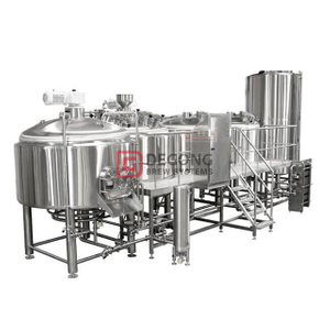 1000L Professional Commercial Craft Brewing Equipment Brewery System SS304 For Beer Fermentation Tank CE Certification