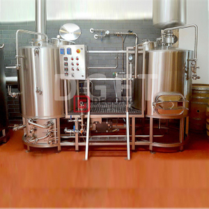 5BBL Beer Brew Kit Brewhouse System Turnkey Beer Making Machine Production Line