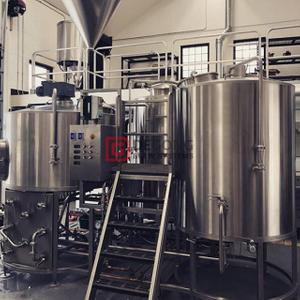1500L 4 Vessel ( Mash/kettle Tun,lauter Tun , Whirlpool Tun And Hot Liquor Tank)brewery equipment Beer Production Line
