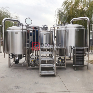 10BBL Commercial Industrial Professional Beer Brewing Equipment in Brazil
