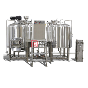 Brewery Plant 10HL commercial Stainless Steel Craft Beer turnkey brewing system Equipment in Slovenia