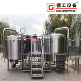 10BBL Industrial Customizable Stainless Steel Equipment Superior Quality for The Production of Craft Beer Hot Sale in US