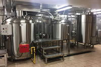 Brewpub layout solution for craft beer brewing equipment in UK
