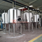 Durable 10 Barrel Storage Jacket Stainless Steel Fermenter Beer Fermenting Vessel For Brewing Equipment
