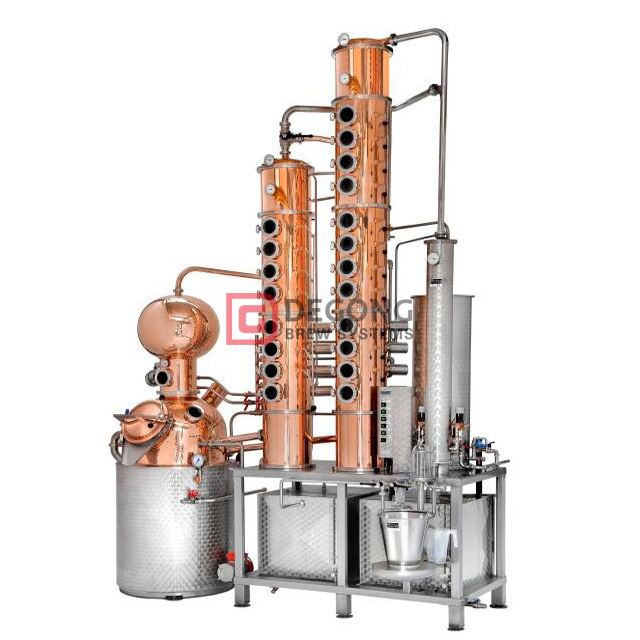 Hot Sale 1000L Alcohol Distillation Plant Equipment Machine for Whisky Vodka