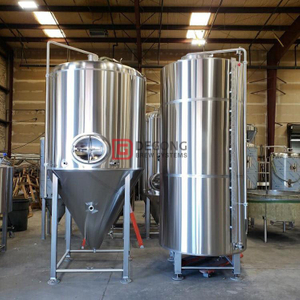 1000L Stainless Steel Beer Fermenter Double Jacket Unitanks High-standard Brewing Equipment for Craft Beer