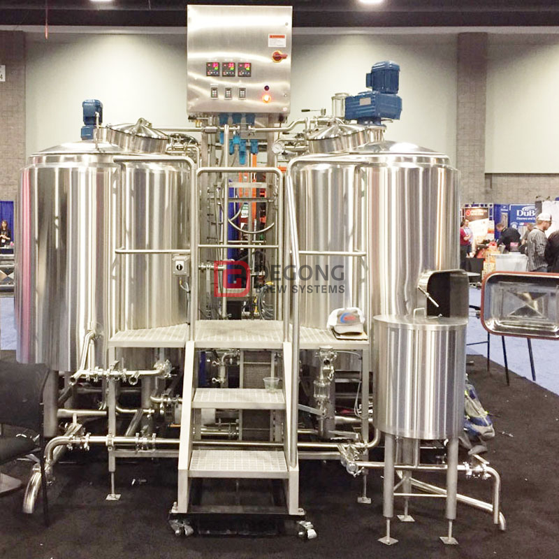 1000L Commercial Used Stainless Steel Automatically Beer Brewing Equipment for Sale