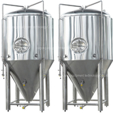 10BBL Dimple Jacket Stainless Steel craft beer fermentation tank for sale