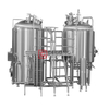 1500L Commercial Industrial Steel Beer Brewing Equipment for Hotel / Restaurant / Brewpub