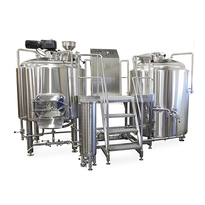 1000L Red Copper / Stainless Steel Brew Kettle Brewhouse Tank System for Sale