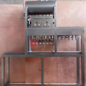 Small Automatic 6 Heads Beer Bottling Machine Glass Bottle Filling&capping System