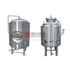304 Stainless Steel 10BBL Jacketed Brite Beer Tank Or Single Wall Available Beer Production Line