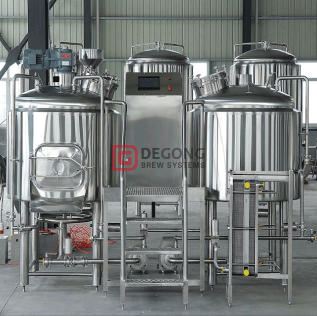 500L Stainless Steel Brewing Beer Equipment Hot Sale Industrial Beer Brewing System