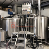 Customized Combined 2/3/4 Vessels Copper/stainless Steel 10HL Brewing Equipment Beer Brewhouse for Sale