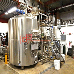1000L craft turnkey industrial beer brewing equipment brewery system with CE certificate for sale
