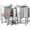 Micro Beer Brewery 600L 2-vessel Brewing System with Electric Heating Sus304/316 for Sale