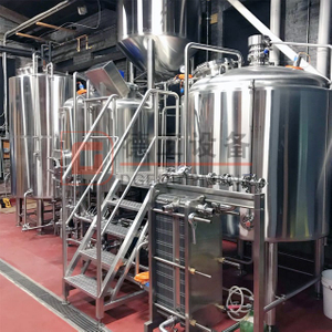 500L Beer Brewhouse Free Combination Craft Brewing System for Sale