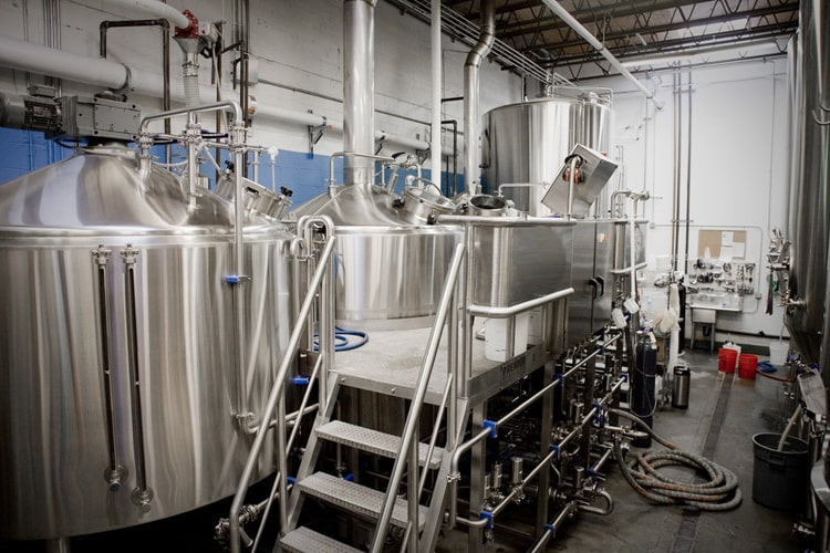 3-vessel beer brewhouse