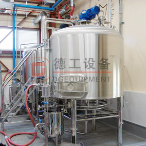 Commercial Beer Brewing Equipment 300L 400L 500L Sus304/316 Brewhouse System Conical Double Wall Fermentation Tank for Sale