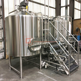Craft beer manufacturing equipment 7bbl microbrewery stainless steel 304/316 construction