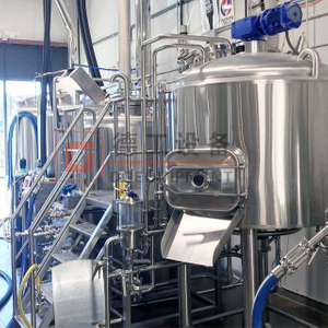 A Complete of Beer Production Line Craft Professional Stainless Steel Brewing Equipment Beer System USA for Sale