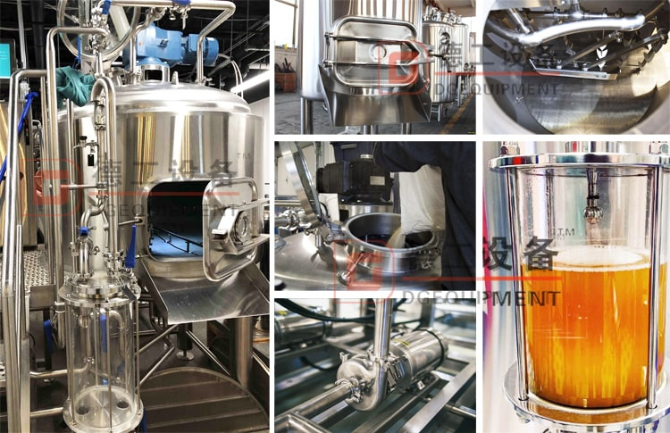 beer brewhouse lauter tank