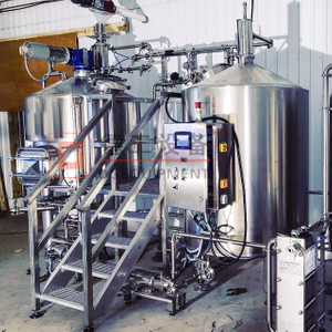 1500L Microbrewery Equipment Craft Beer Brewing System Beer Production Line Stainless Steel Fermentation Tank for Sale