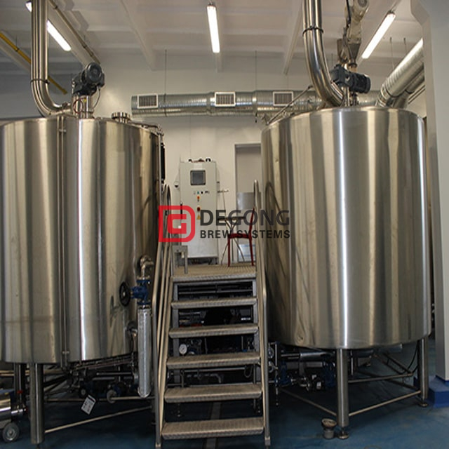 500L Commercial Turnkey 3-vessel Craft Beer Brewing Equipment for Sale