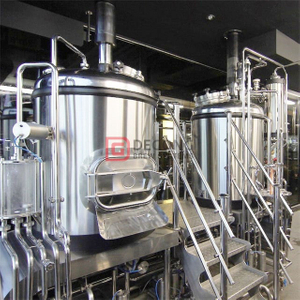 Setup a 20bbl stainless steel 316 food grade beer making line brewery for a taproom bar