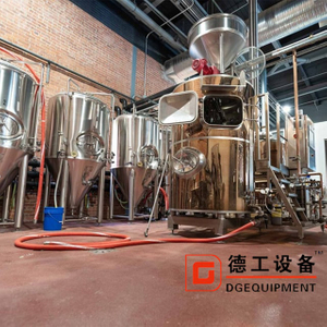 1000L Customized automatic Conical Beer Brew Kettle And Fermentation Tank Complete Beer Brewing Equipment